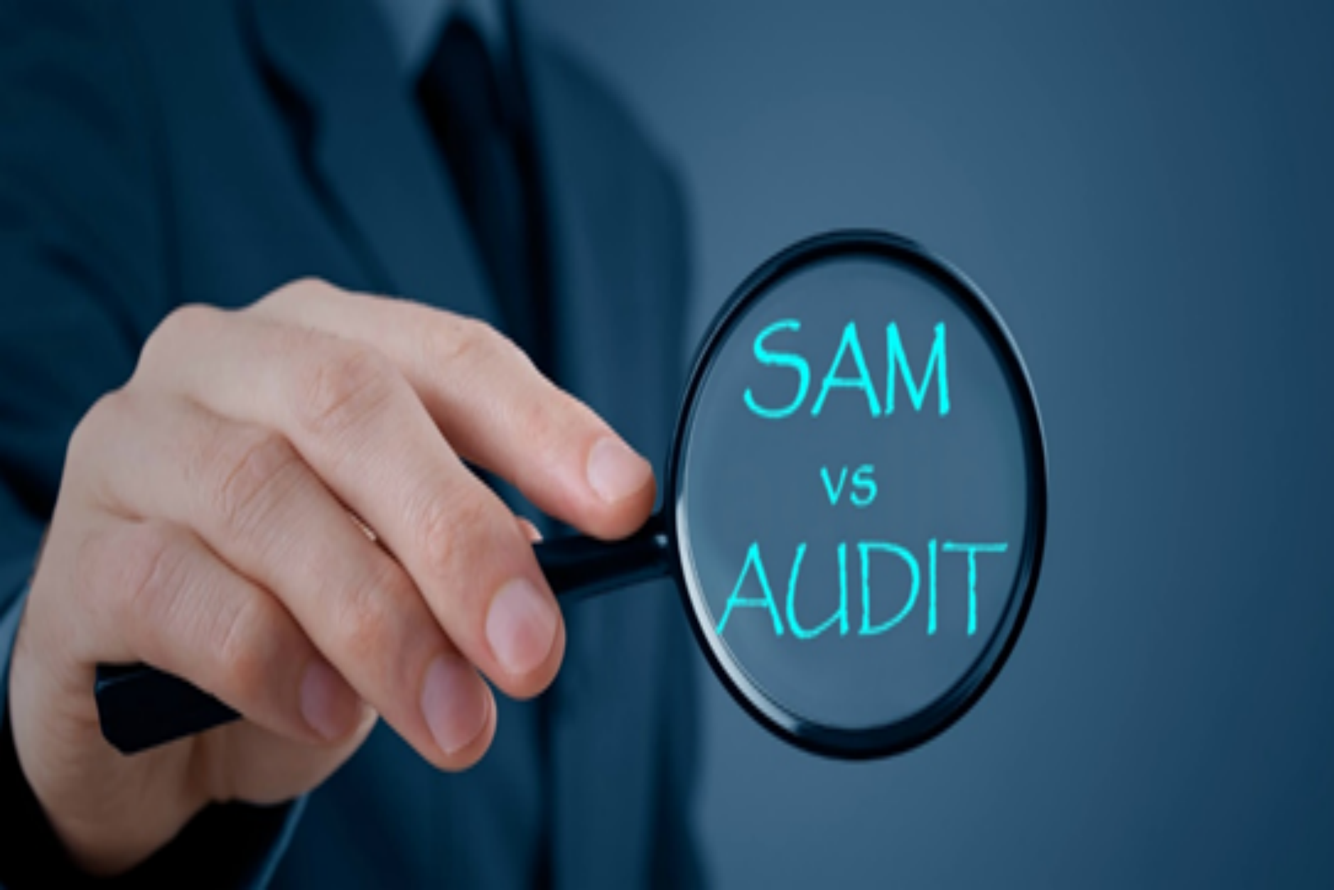 How does a Microsoft SAM differ from an Audit?