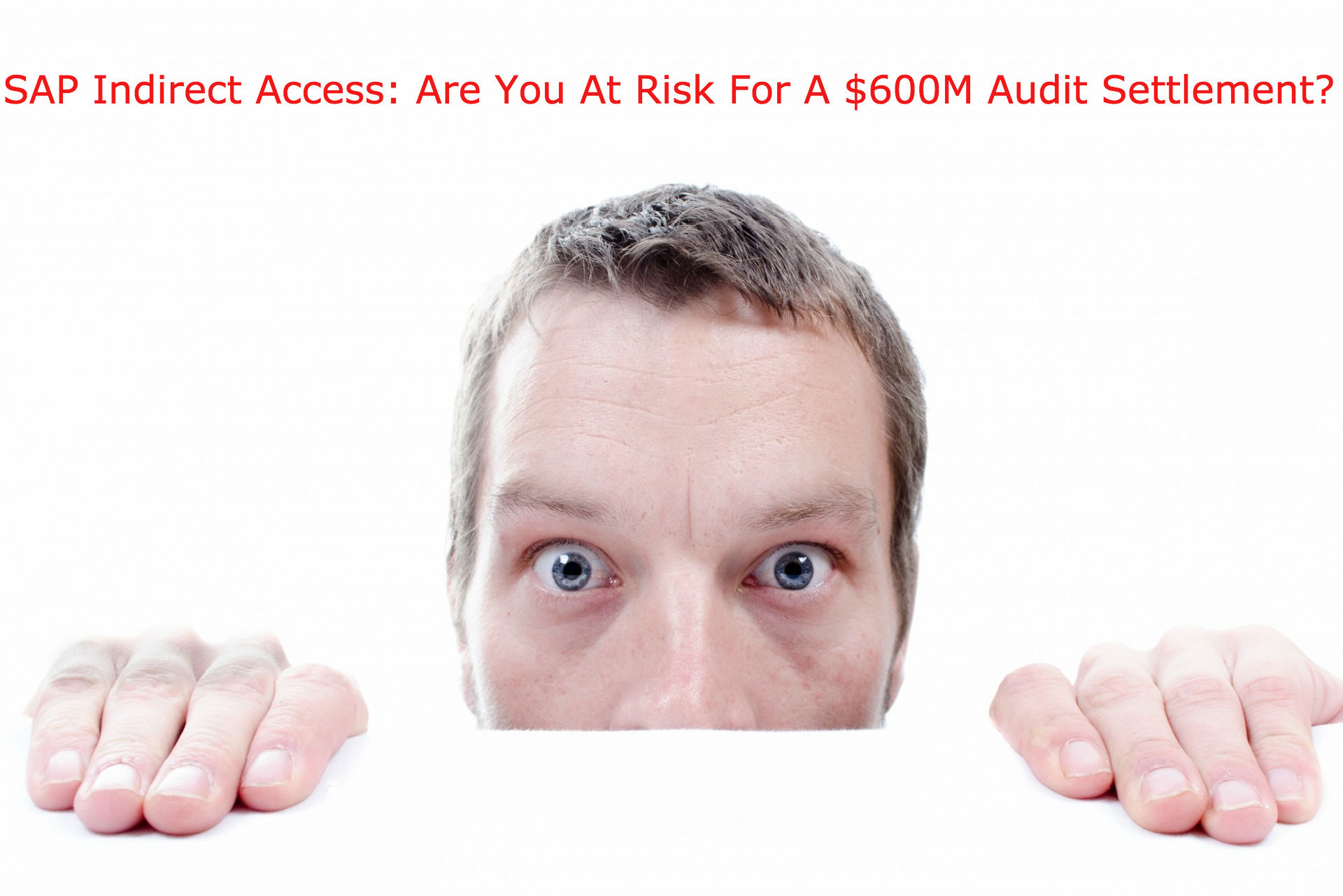 SAP Indirect Access: Are You At Risk For A $600M Audit Settlement – Webinar Replay
