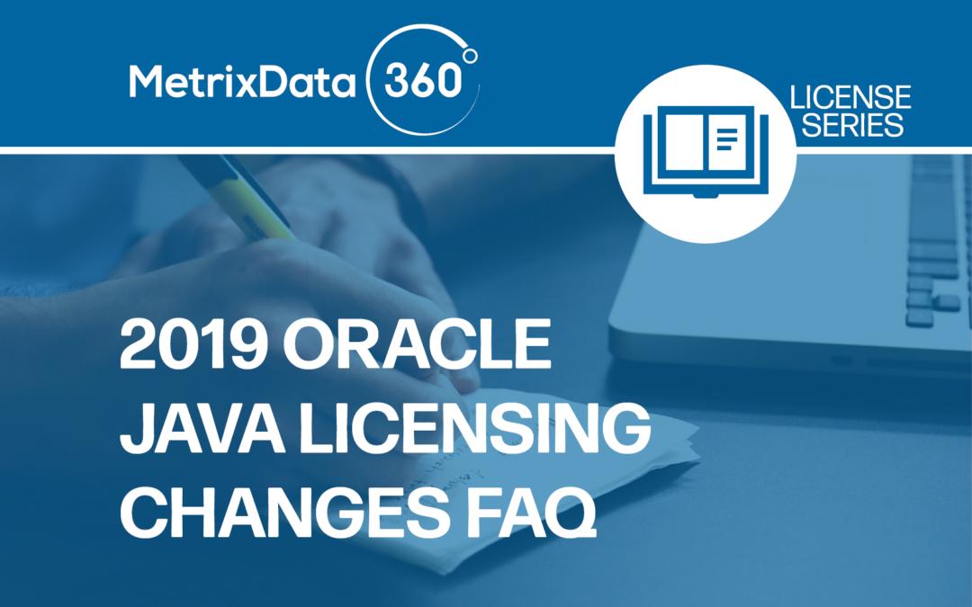 Oracle Java Licensing Changes