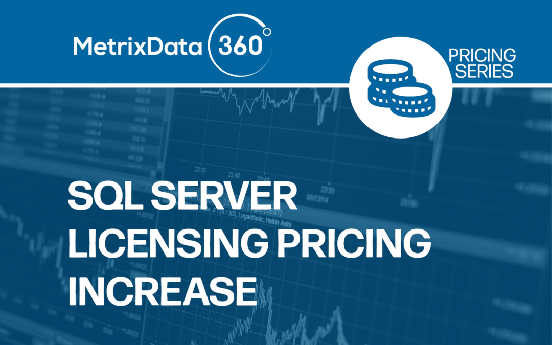 SQL Server Licensing Price Increase