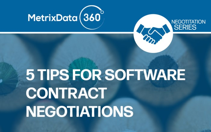 5 Simple Tips for Software Contract Negotiation