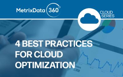 4 Best Practices For Cloud Optimization