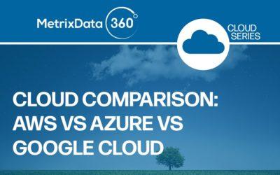 AWS vs Azure vs Google Cloud: A Cloud Service Comparison