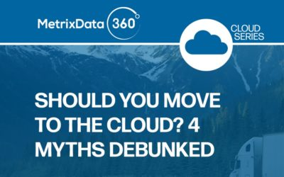 Should You Move to the Cloud? 4 Myths Debunked