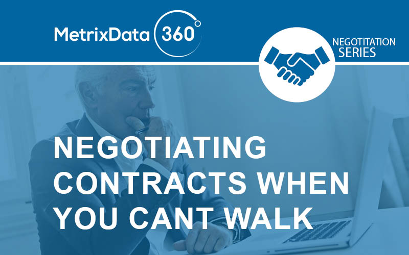 Software Contract Negotiation (When You Don't Have the Upper Hand)