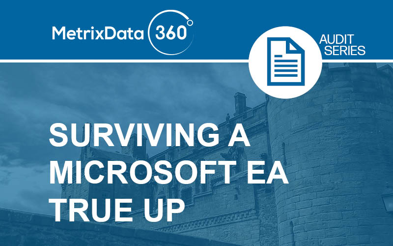 Tips for Surviving a Microsoft EA True Up