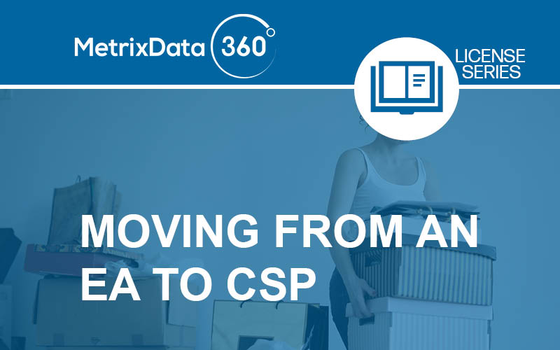 How to Move From an EA to CSP