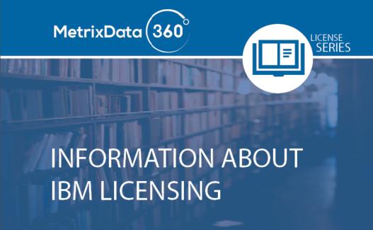 Information About IBM Licensing