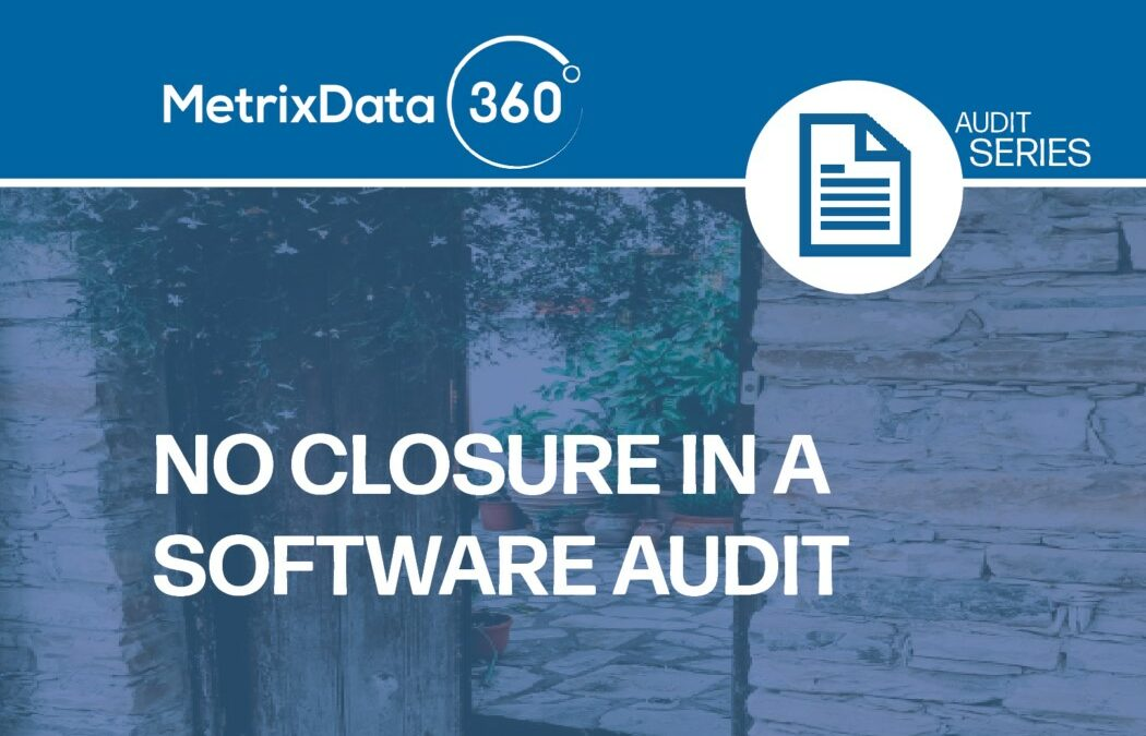 Is Your Software Auditor Ignoring You?