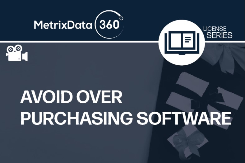 Avoid Over Purchasing Software