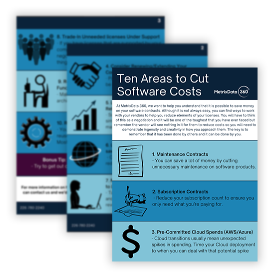 Ten tips to save software budget in a crisis